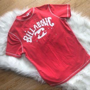 3/$25 BILLABONG women's short sleeve surf shirt L